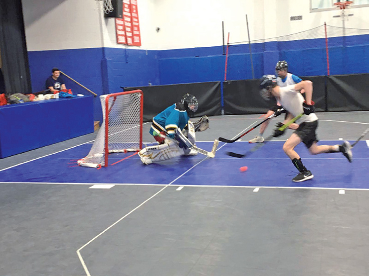 Fourth Annual Rambam 3 On 3 Hockey Tournament Scores Big